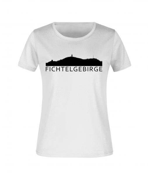 """Damen T-Shirt """"Fichtelgebirge"""""""